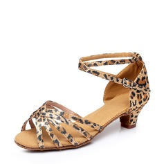 Women's Latin Sandals Satin Latin