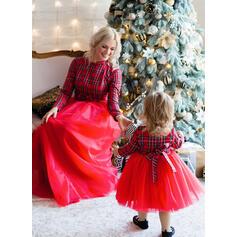 Maman et moi Plaid Correspondant à Robes