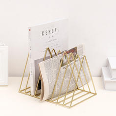 Contemporary Iron Magazine Racks