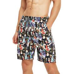 Heren Print Board Shorts