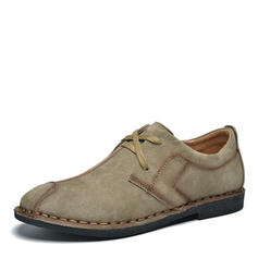 Lace-up Casual Suede Men's Men's Loafers