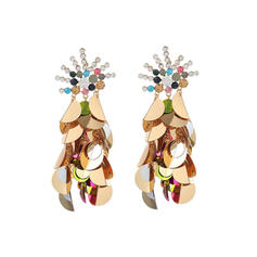 Shining Resin Women's Fashion Earrings