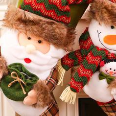 Merry Christmas Snowman Reindeer Santa Hanging Gift Bag Cloth Christmas Décor Stockings