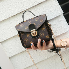 Refined PU Satchel/Cross-Body Bags
