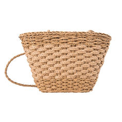 Unique/Fashionable/Small/Solid Color Straw Beach Bags