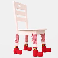щасливого Різдва Неткане полотно Чохол для ніг крісла