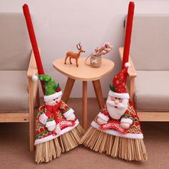 Merry Christmas Snowman Santa Non-Woven Fabric Christmas Décor