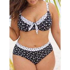 Punct Curea Sexy Büyük beden Bikini Mayolar
