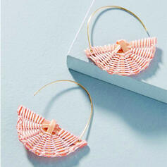 Charming Hottest Alloy Basketwork Earrings
