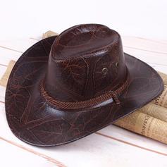 Men's Classic leather/Pu Cowboy Hats