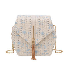 Unique/Delicate/Pretty/Shell Shaped/Bohemian Style/Braided Crossbody Bags/Shoulder Bags/Bridal Purse/Bucket Bags