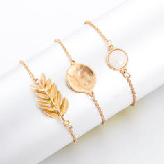 Exquisite Alloy Women's Bracelets (Set of 3)