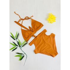 Hoge Taille string Riem Sexy Bikini's Badpakken