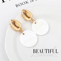Simple Shell Alloy Women's Earrings