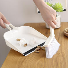 Modern Polyester Brush & Dustpan