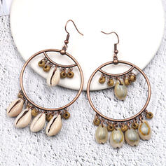 Exquisite Charming Alloy With Shell Earrings