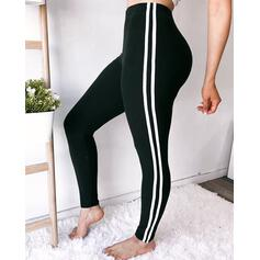 Striped Long Sexy Skinny Striped Leggings