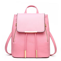 Fashionable/Solid Color PU Backpacks
