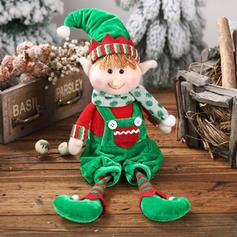 Таблиця щасливого Різдва Тканина Лялька