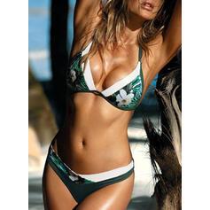 Lage Taille Halter Sexy Vers Bikini's Badpakken