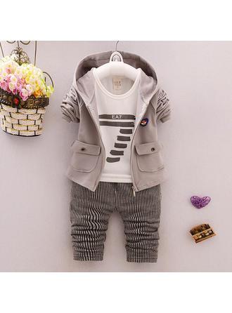 Bébé & Bambin Garçon Striped Coton Pantalon,Manteau,T-shirt Définir La Taille