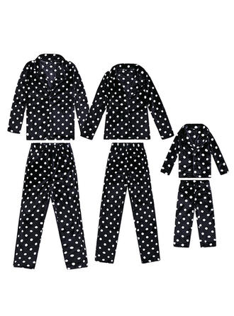PolkaDot Family Matching Christmas Pajamas