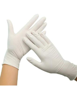 Protective Disposable Multi-functional Emulsion Gloves (Set of 100)