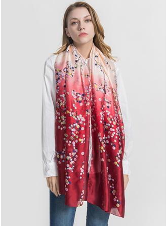 Blumen Leicht/überdimensional Schal