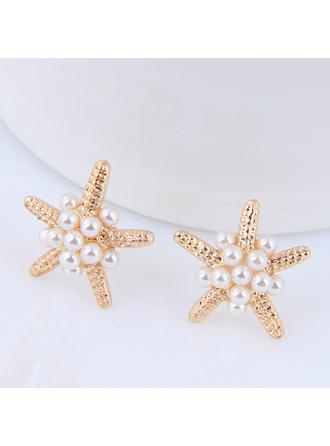 Beautiful Alloy Imitation Pearls With Imitation Pearl Women's Fashion Earrings