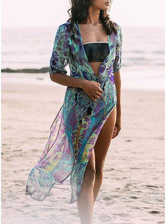 Fleuris À La Mode Tenues de plage Maillots De Bain