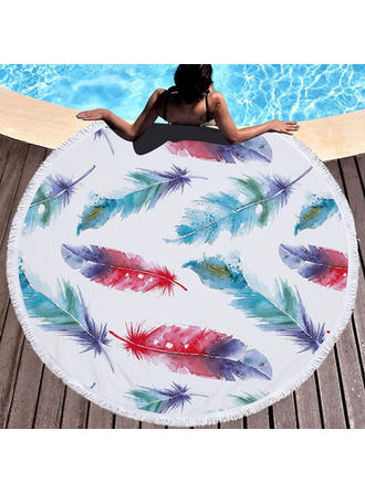Elephant Oversized/round Beach Towel