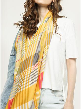 Plaid Shawls/fashion/fresh/Boho Scarf