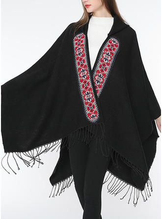 Country Style/Tassel Oversized/Shawls Square scarf