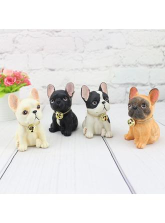 Lovely Resin Dog Figurines & Sculptures