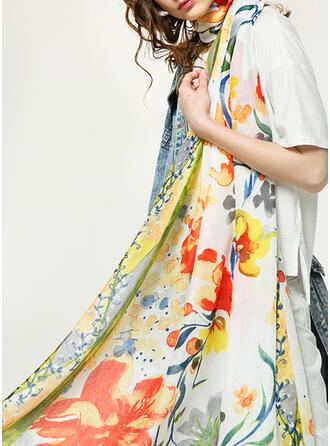 Floral moda/fresco Lenço