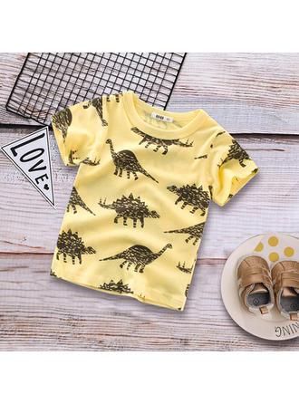 Bébé & Bambin Garçon Dinosaure Coton T-shirt