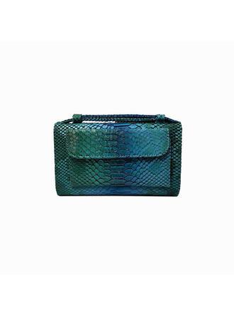 In de mode/Bol Shaped/alligator Patroon/Vintage Koppelingen/Schouder Tassen