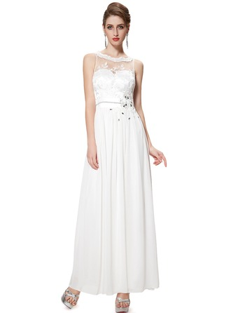 Embroidery/Sequins A-line Maxi Dresses