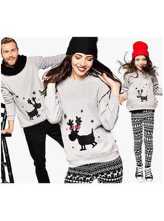 Reindeer Family Matching Sweatshirts