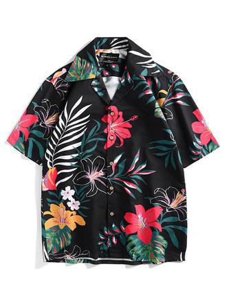 Pour des hommes hawaïen Séchage rapide Chemises de plage