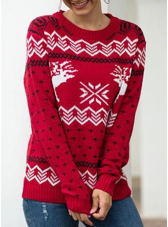 Christmas Round Neck Sweaters
