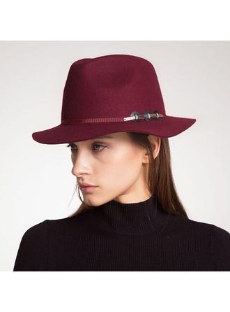 Ladies ' Moda/Bardzo Wełna/Akryl Bowler / Cloche Hat