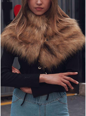 Color sólido Cuello/Clima frío Envolturas