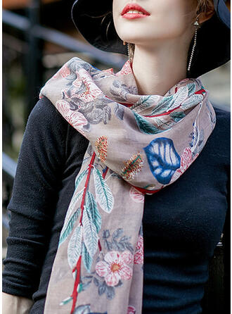 Blumen mode Schal