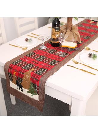 boldog Karácsonyt Szövet Asztali futó