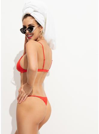 Low Waist Thong Strap Sexy Bikinis Swimsuits