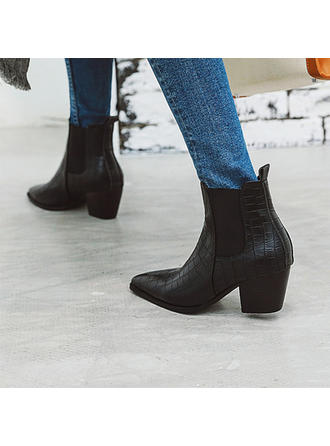 Femmes PU Talon bottier Bottines avec Autres chaussures