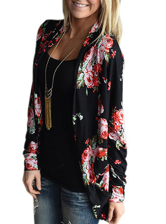 Cotton Print Cardigan