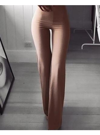 Couleur Unie Longue Décontractée Sexy Sportif Pantalon