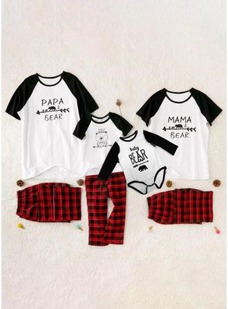 Písmeno Rodinné odpovídající Pyžama